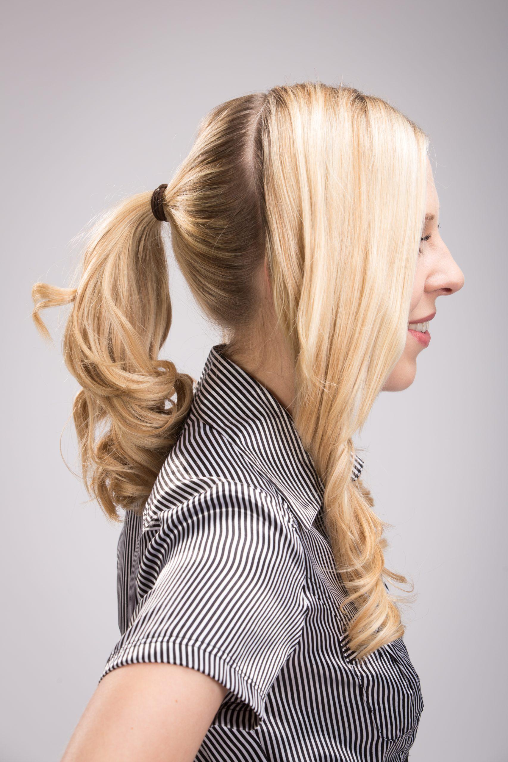 Schnelles Haarstyling Furs Buro Klipp Blog