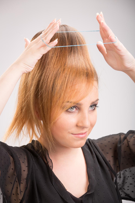 Inspirierend Frisur Mit Knotenrolle Anleitung Finden Sie Die Beste