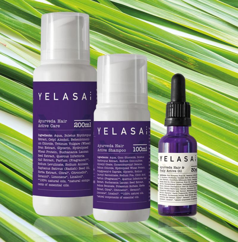 Haarpflegekosmetik von Yelasai: Shampoo, Hair Care & Scalp Active Oi