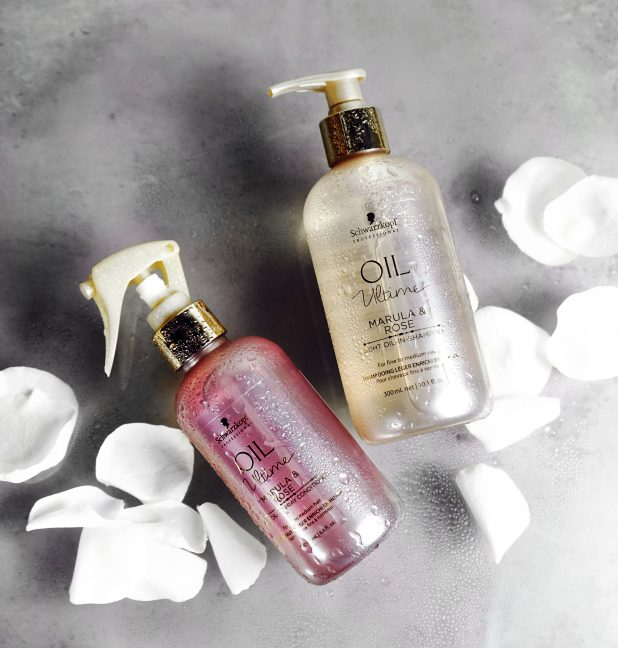 shampoo schwarzkopf rosenöl marulaöl haar