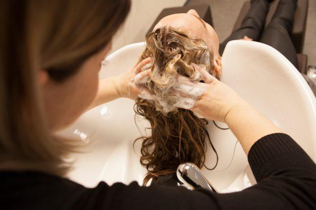Waschen Kopfhautreinigung Yelasai Kopfhautpflege