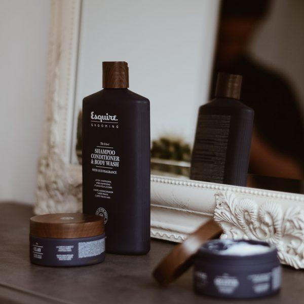 Esquire-Grooming-Shampoo-Conditioner-Body-wash-men-Männer-KLIPP-Frisör-Friseur