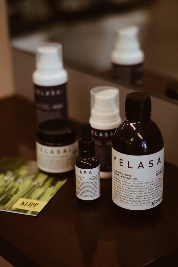 yelasai produkte haarausfall haarprobleme kopfhaut ayurvedische kopfhautbehandlung shampoo conditioner pflege haarpflege haaröl peeling