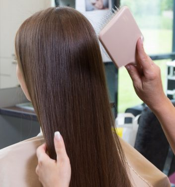 bürsten, bürste, Kopfhaut, Haarpflege, Friseur, Frisör