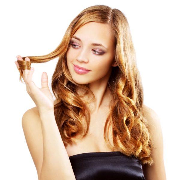 Haare, Haarpflege, Locken, glänzendes Haar, gesunde Haare