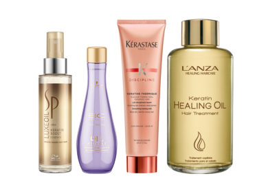 Keratin, Haarpflege, L'anza, Kérastase, BC Schwarzkopf, SP Wella, Haaröl, Treatment