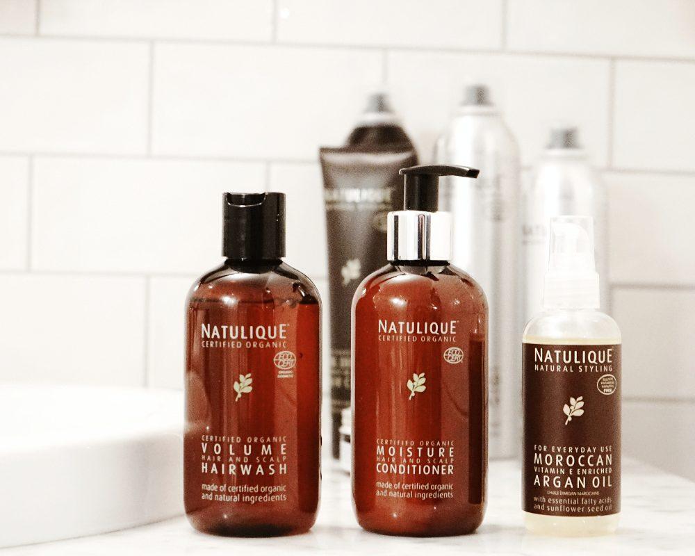 natulique haarpflege shampoo conditioner argan oil öl moisture feuchtigkeit natürlich bio organic