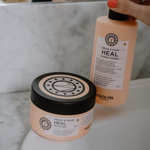maria-nila-peach-colour-refresher-klipp-head-and-heal-conditioner-masque-maske