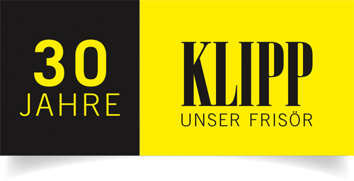 KLIPP 30 Jahre Logo