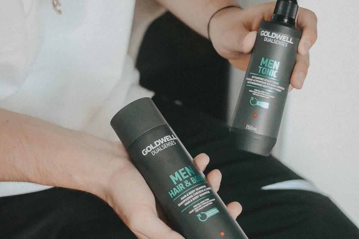 Männerhaar Haarpflege Männerpflege Tonic Goldwell Dualsenses Men